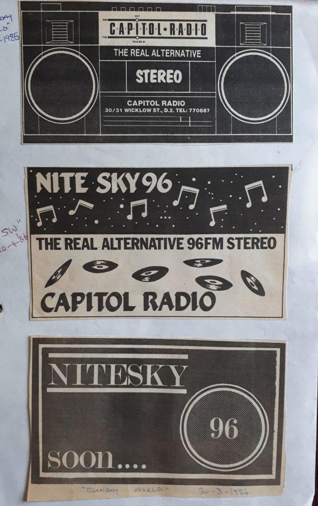 Aircheck: Capitol Radio/Nitesky 96