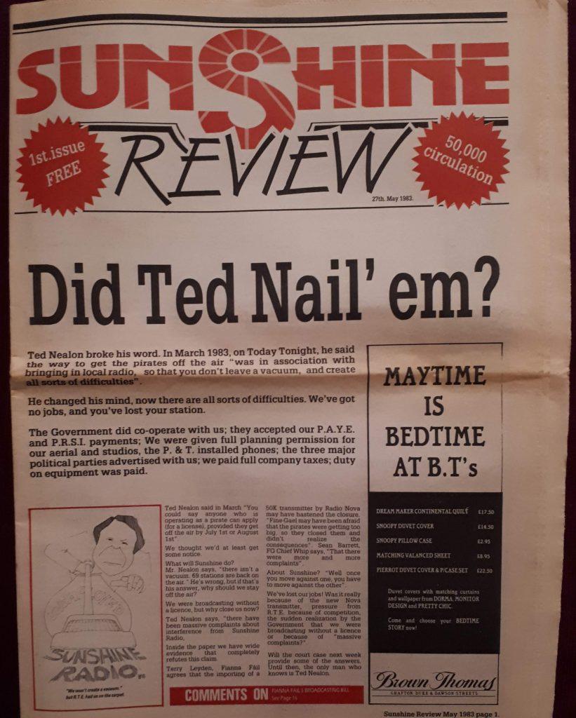 Jingles and promo: Sunshine Radio Review