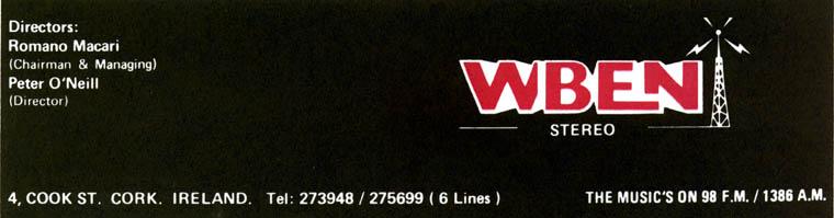 WBEN – Irish Pirate Radio Audio Archive