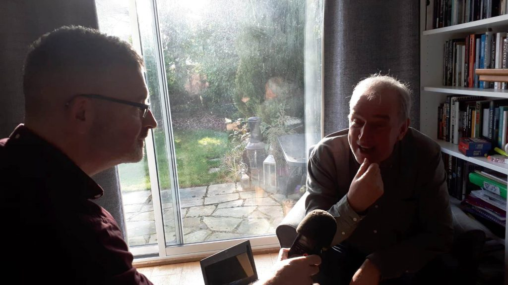 Interview: Ian Biggar (part 1: Boyneside Radio, Radio Carousel)
