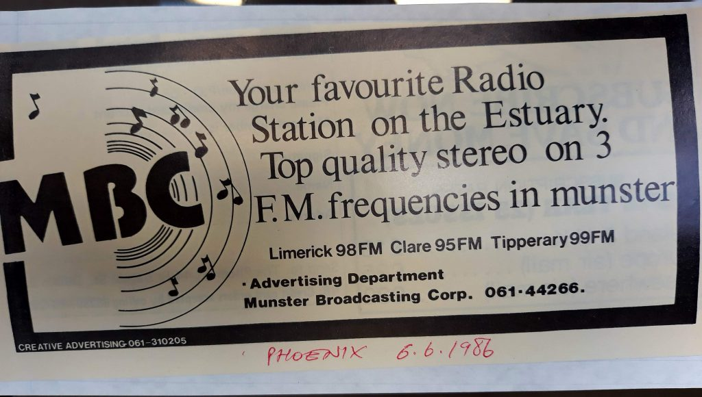 Aircheck: Munster Broadcasting Corporation (Limerick)