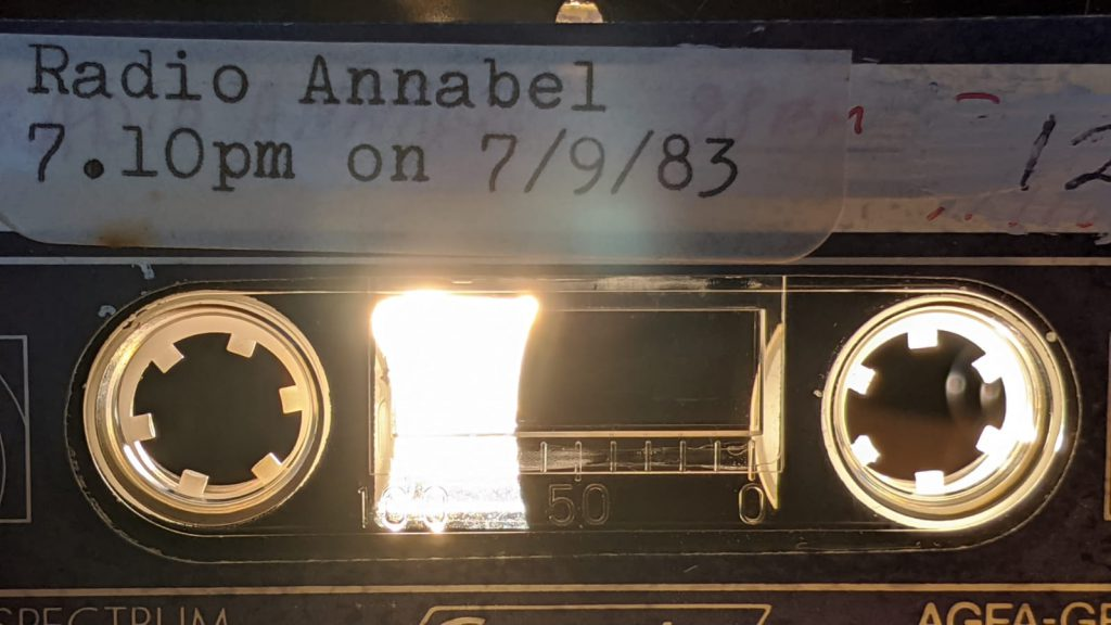 Full recording: Radio Annabel (Dublin)