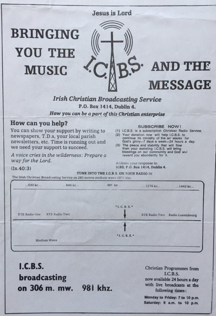 Full recording: ICBS (Dublin)