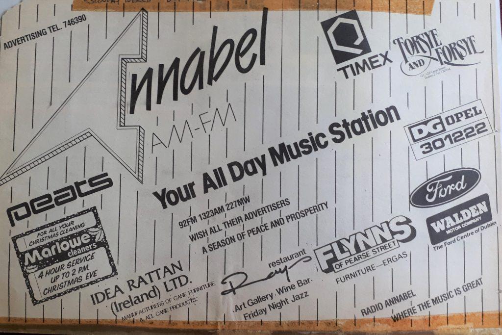 Jingles: Radio Annabel (Dublin)