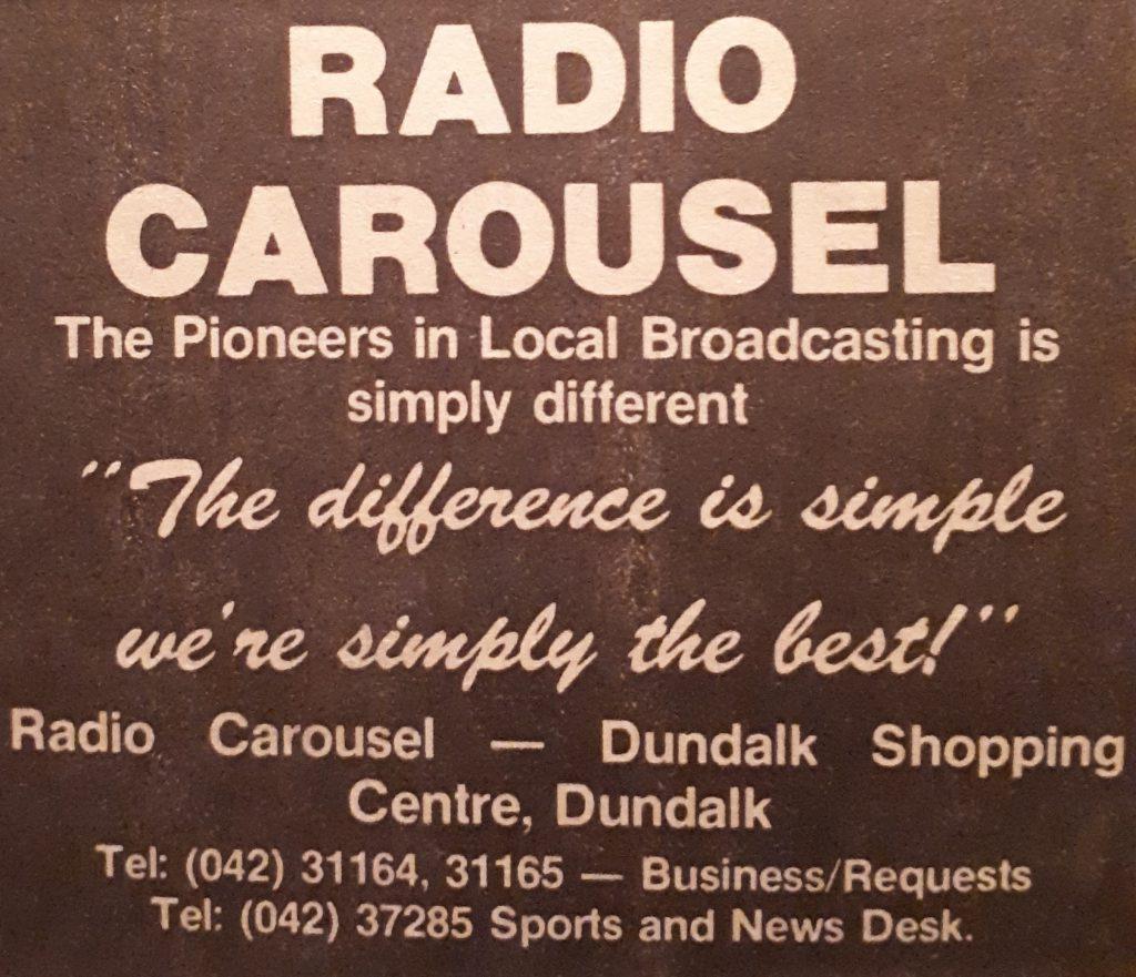 Full recording: Radio Carousel (Dundalk)