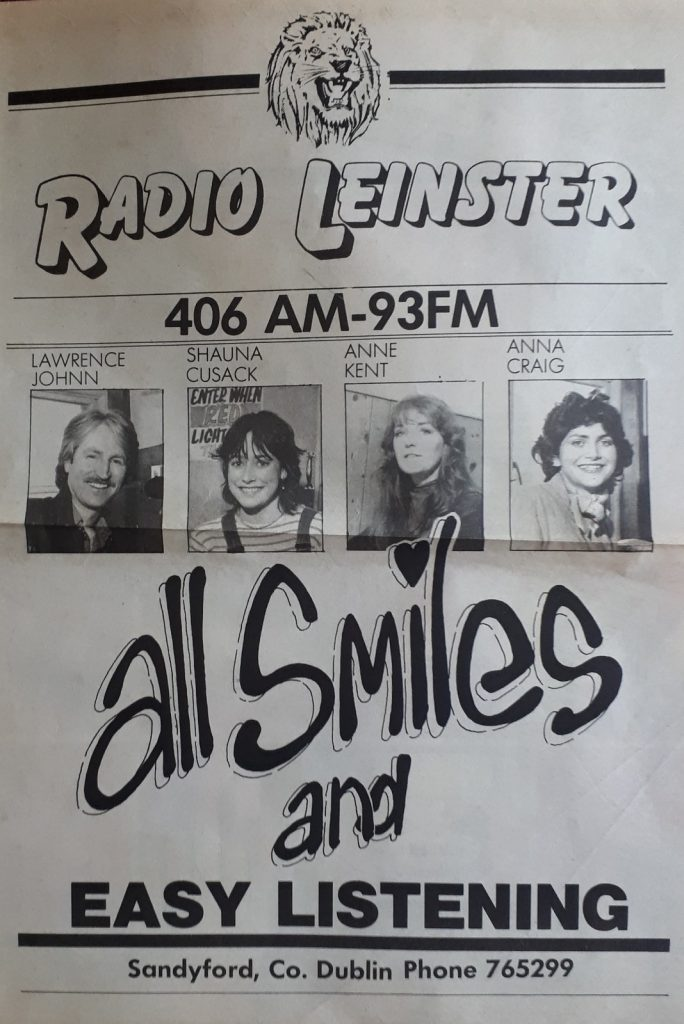 Sunday afternoon on Radio Leinster