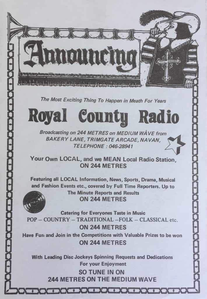 Royal County Radio from Navan