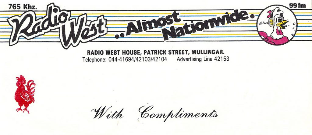 Full recording: Radio West (Mullingar)