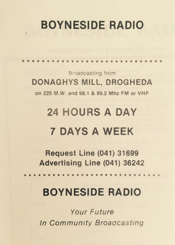Northeast series: Boyneside Radio (1981)
