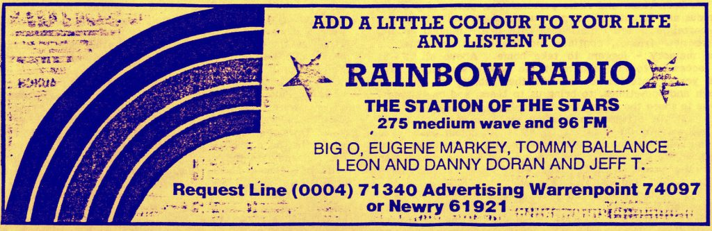 Northeast series: Rainbow Radio (1987-1988)