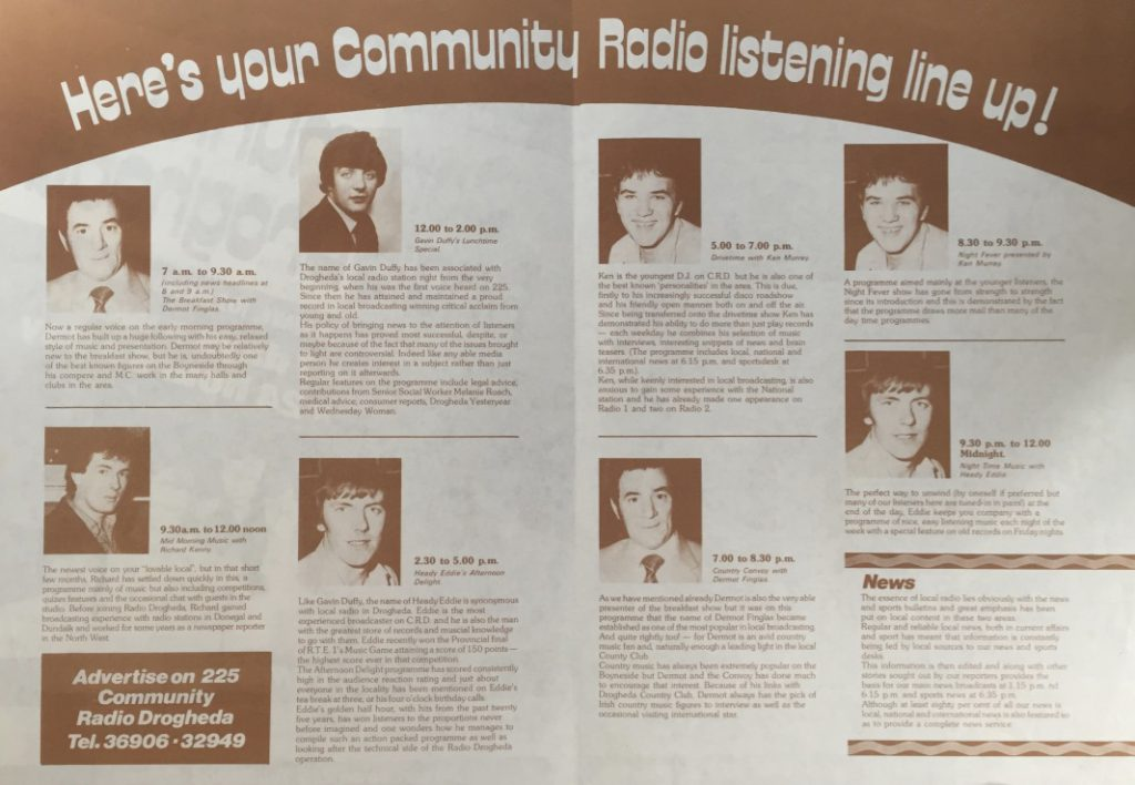 Northeast series: Community Radio Drogheda (1981)