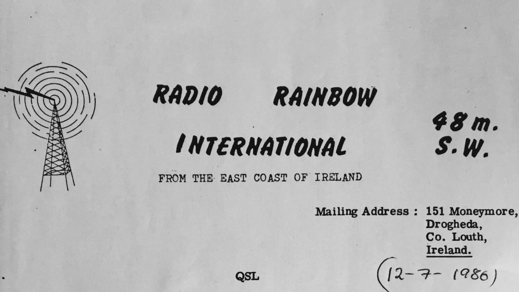 Northeast series: Radio Rainbow International (1985-1986)