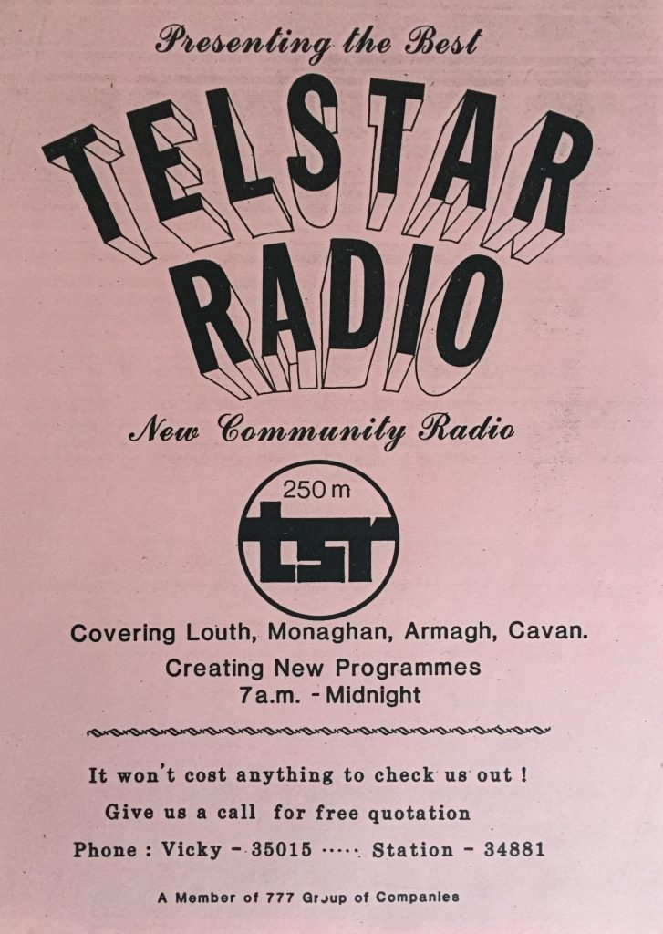 Northeast series: Telstar Community Radio (1980-1988)