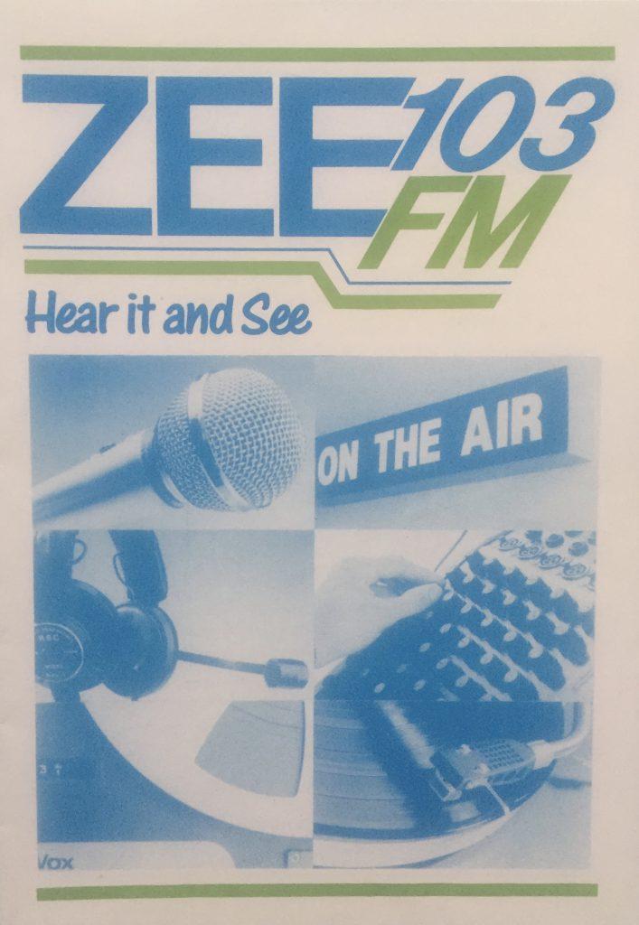 Northeast series: Zee 103 (1986-1988)