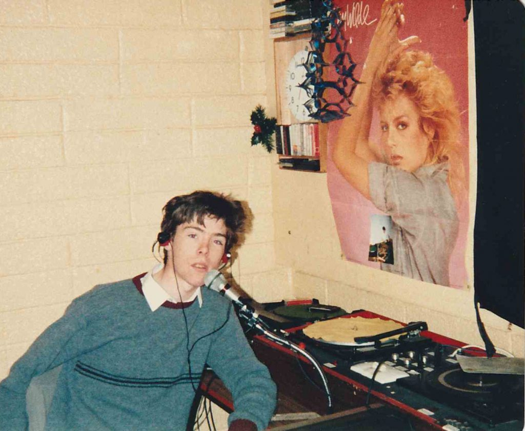 Final day of Centre Radio (Dublin), New Year's Eve 1988