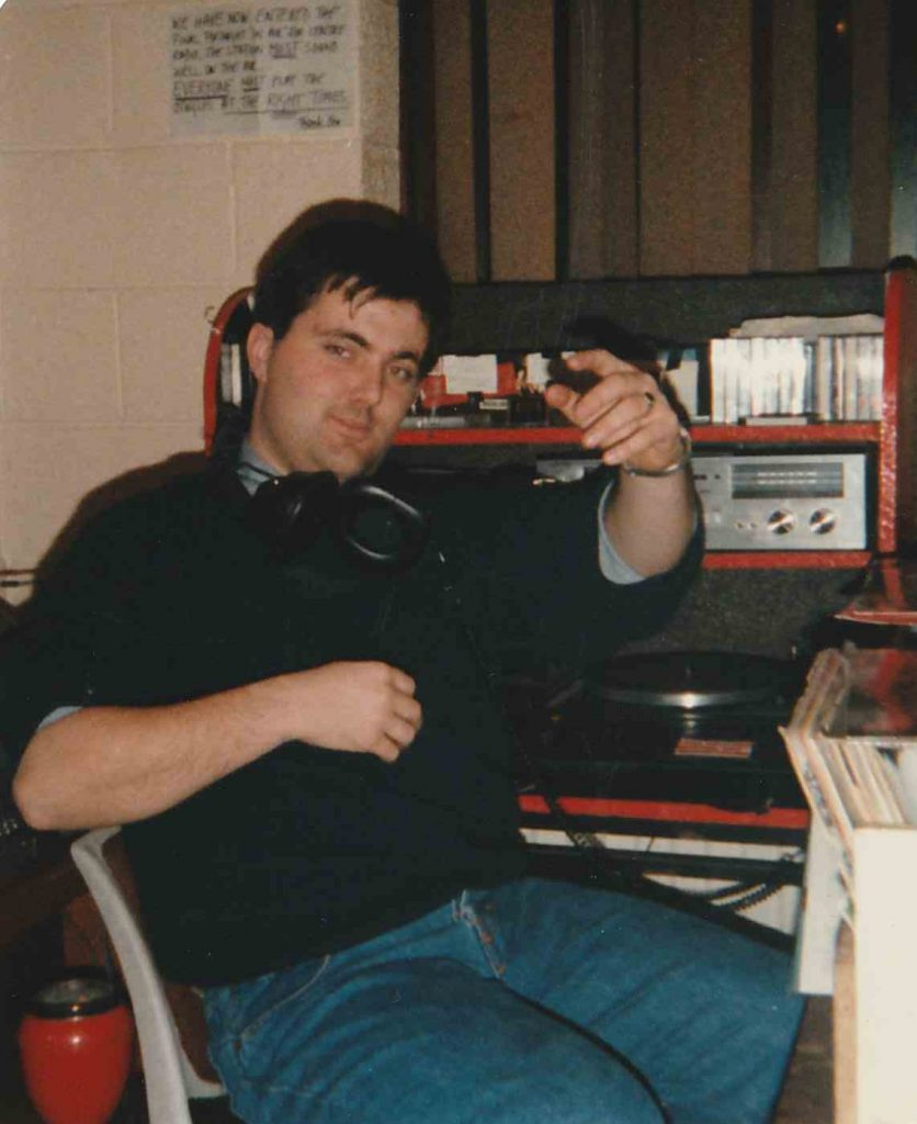 Centre Radio prepares to close, New Year's Eve 1988