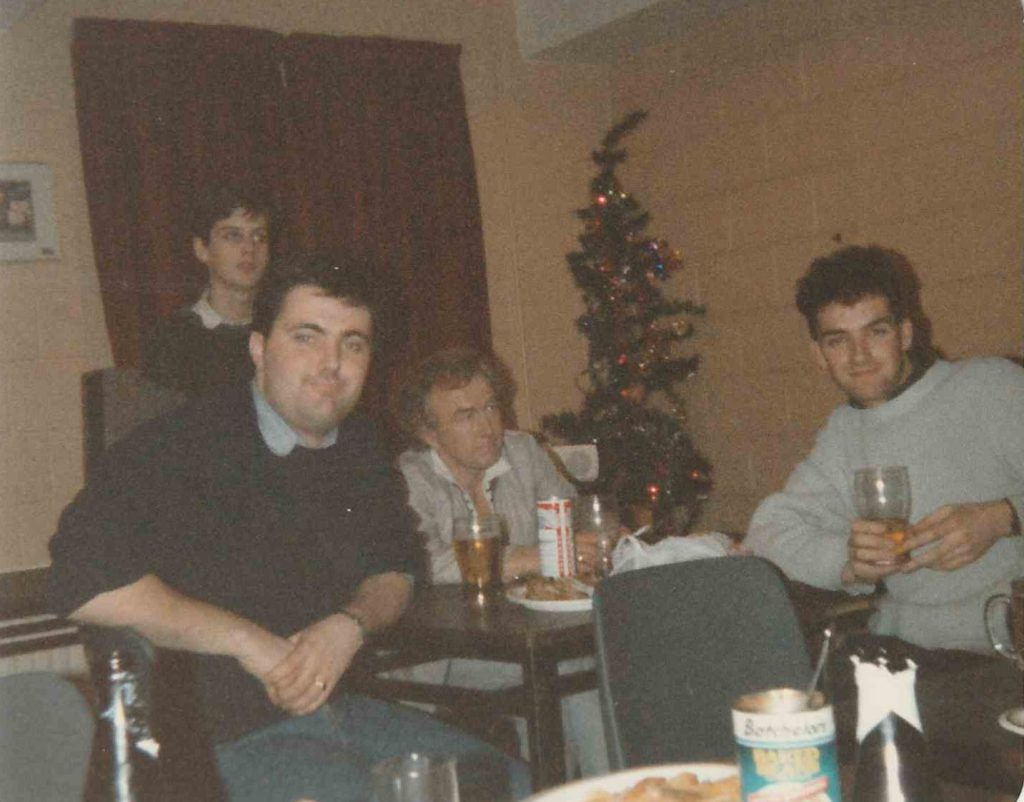Closedown of Centre Radio, New Year's Eve 1988