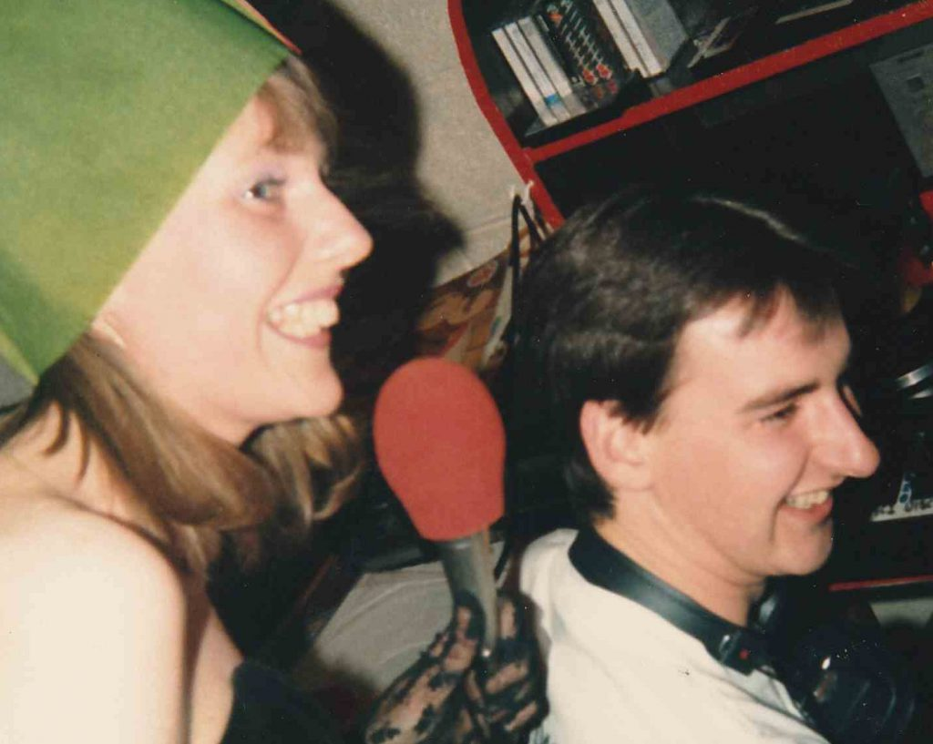More of the final day of Centre Radio, New Year's Eve 1988