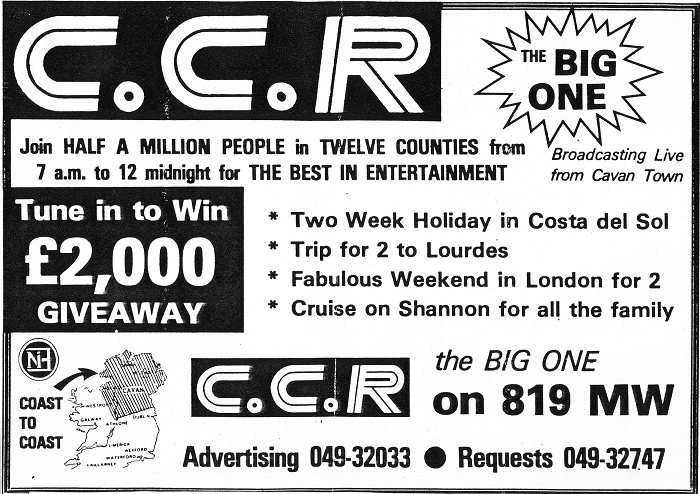 Holiday giveaway on Cavan Community Radio