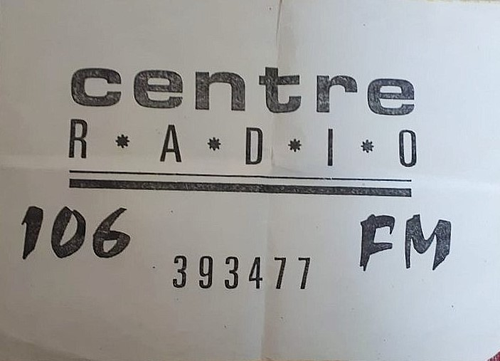 Final overnight of Centre Radio, 30th to 31st December 1988