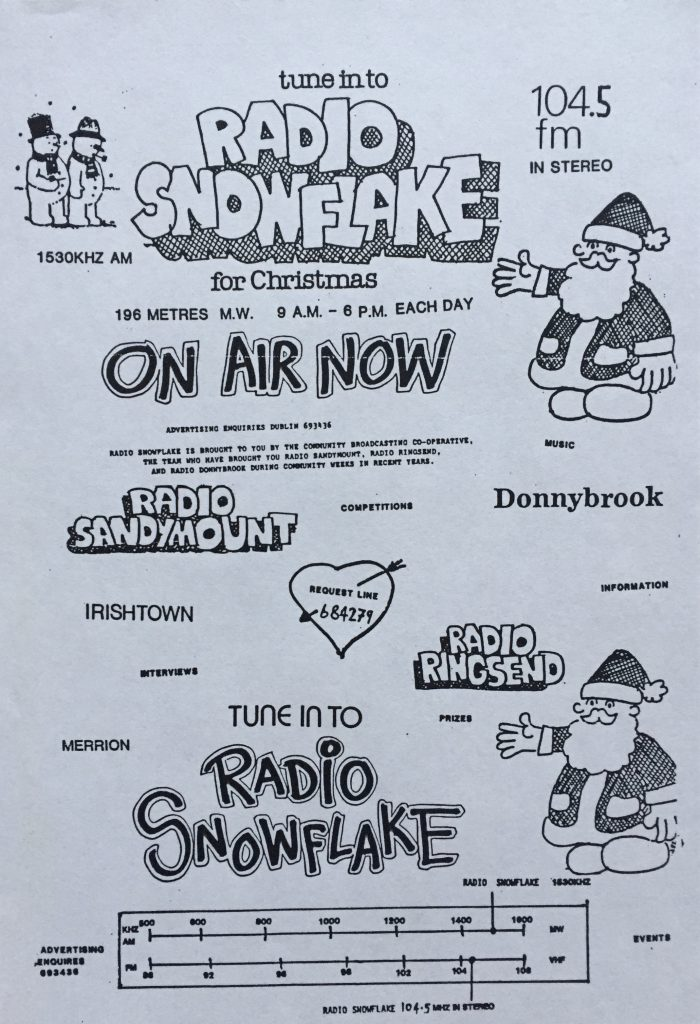 The original Christmas station: Radio Snowflake