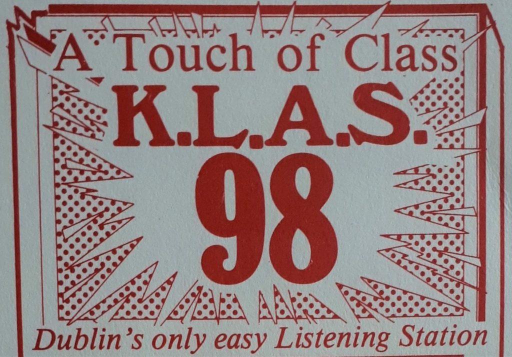 Dublin's easy listening station KLAS 98
