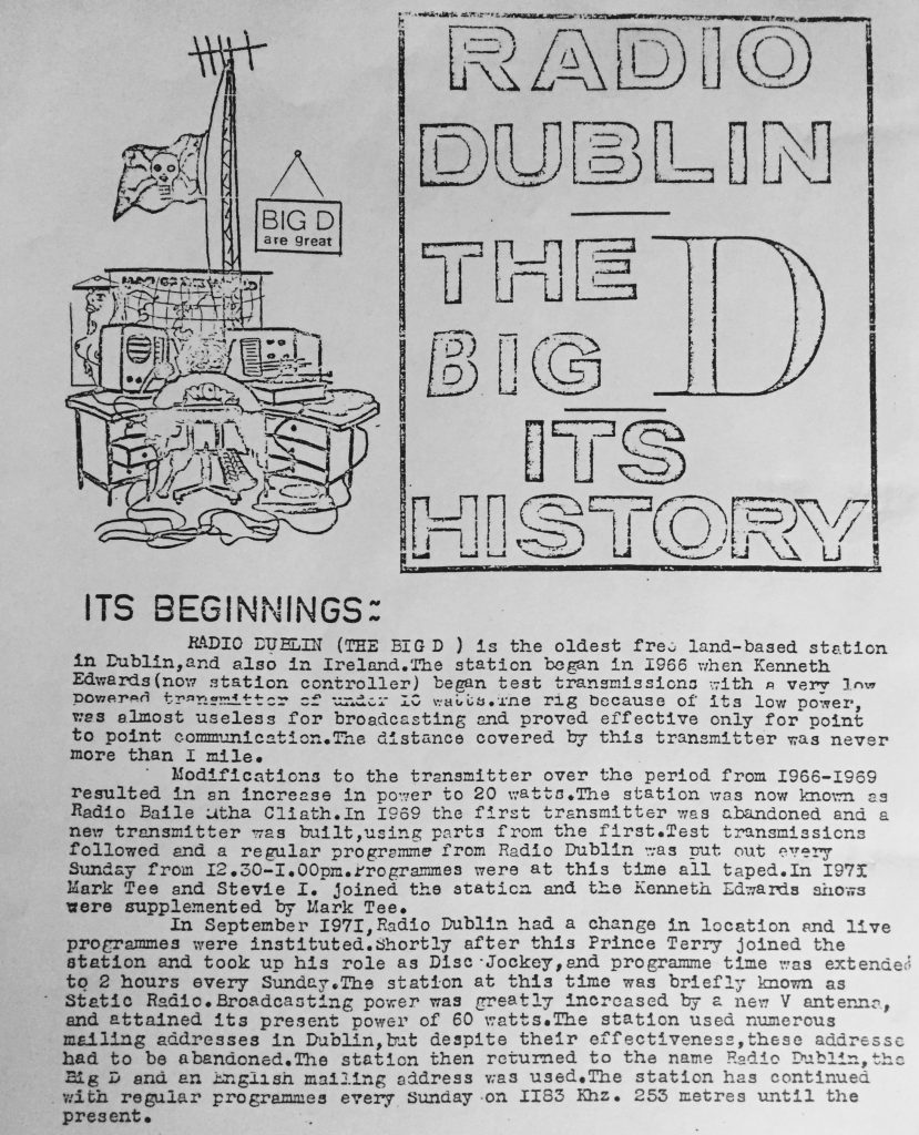 Pirate Pioneers: the early days of Radio Dublin