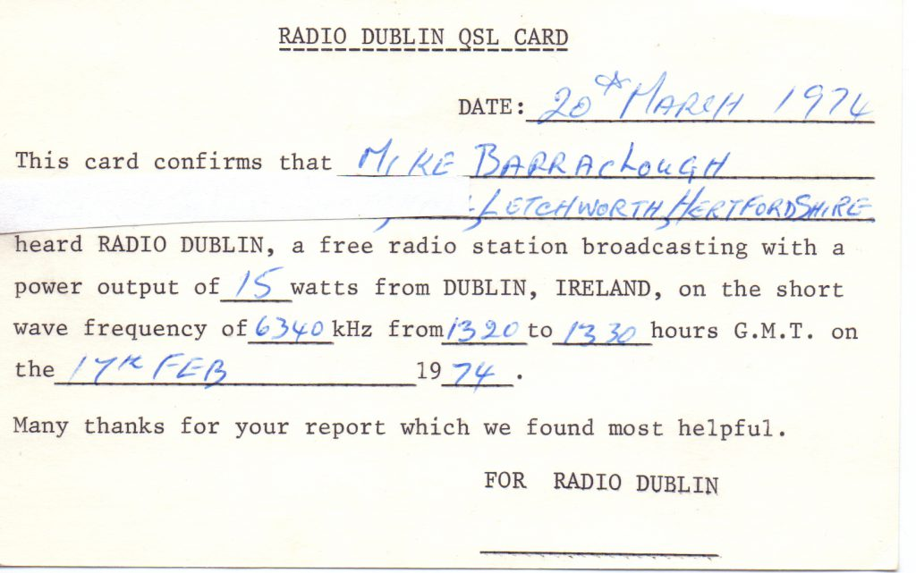 Pirate Pioneers: trouble brews for Dublin pirate radio in 1972