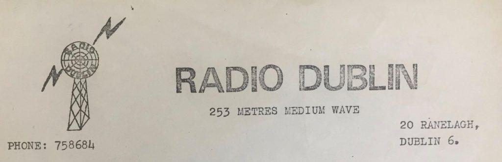 Pirate Pioneers: early Radio Dublin jingle package