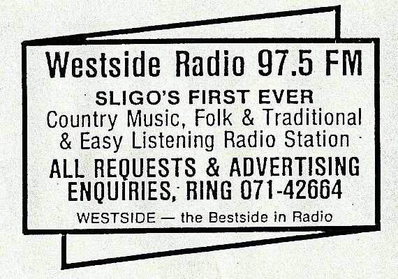 Westside Radio from Sligo